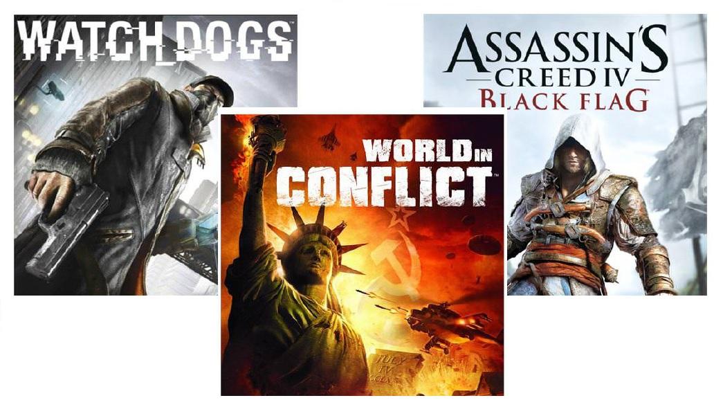 Juegos de Ubisoft gratis! [watchdogs, World in Conflict y asassins creed blackfag]