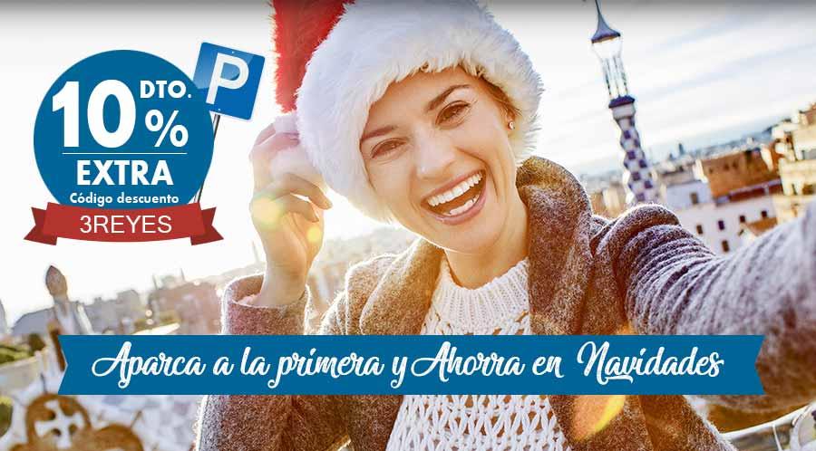 MYPARKING -10% ¡APARCA EN AEROPUERTOS Y AHORRA! 3REYES