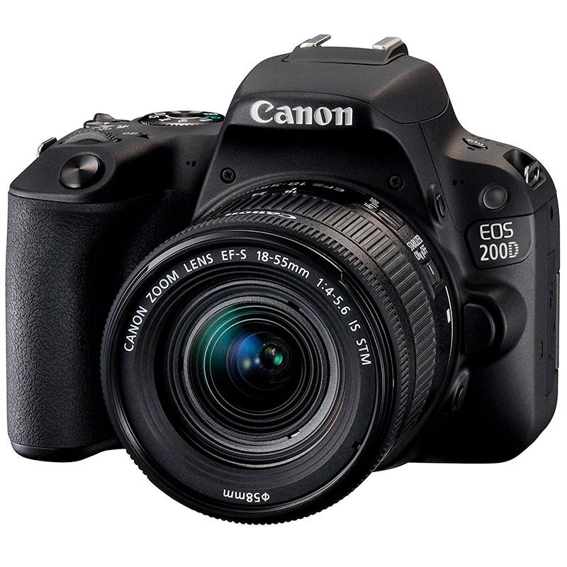 Canon EOS D200 + objetivo EF-S 18-55 mm por solo 499€