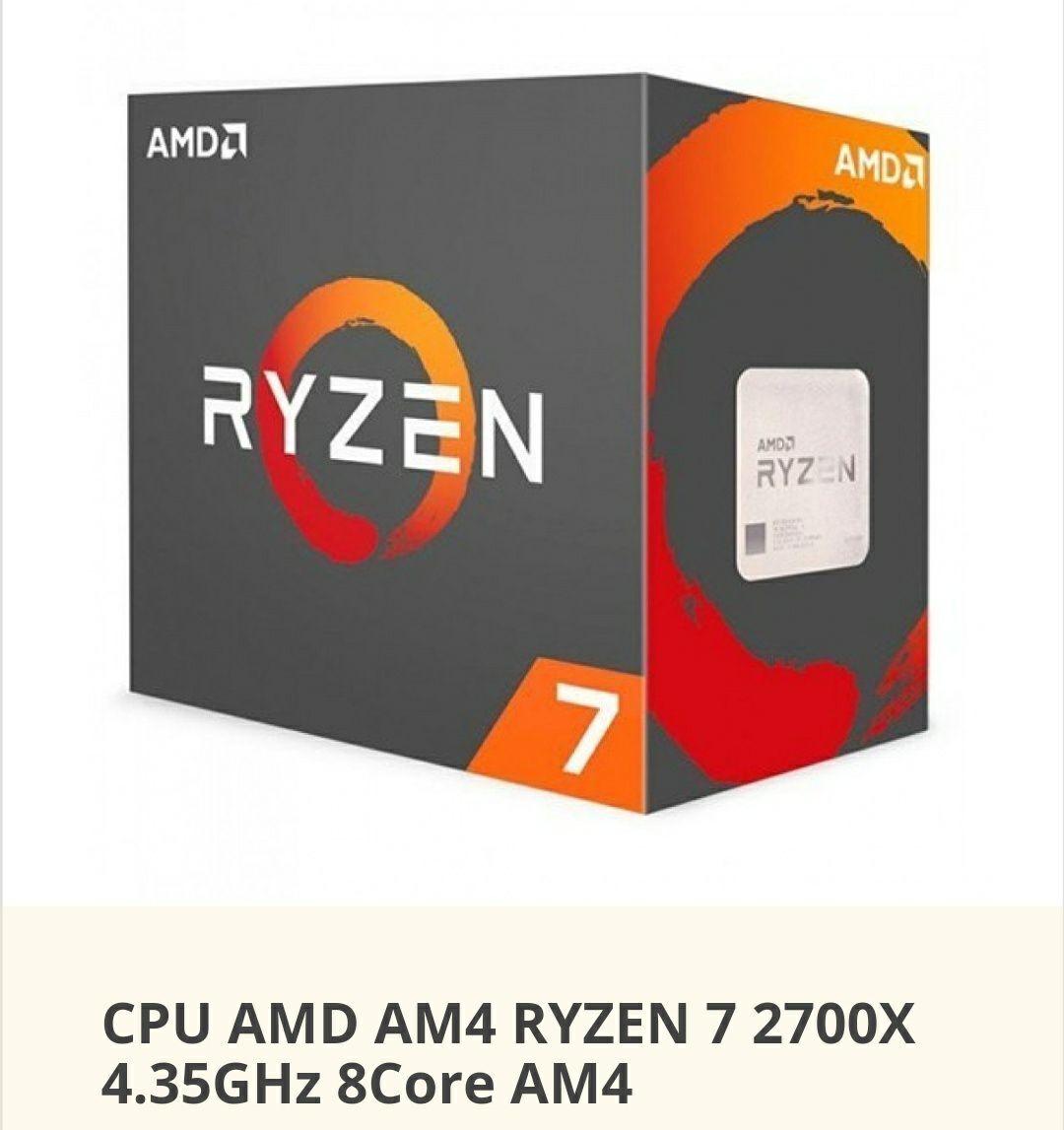 AMD Ryzen 2700X (Desde España)