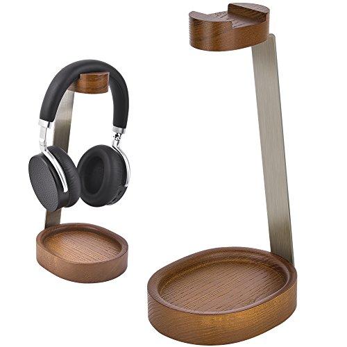 Soporte auriculares Bambú y Metal solo 6.9€