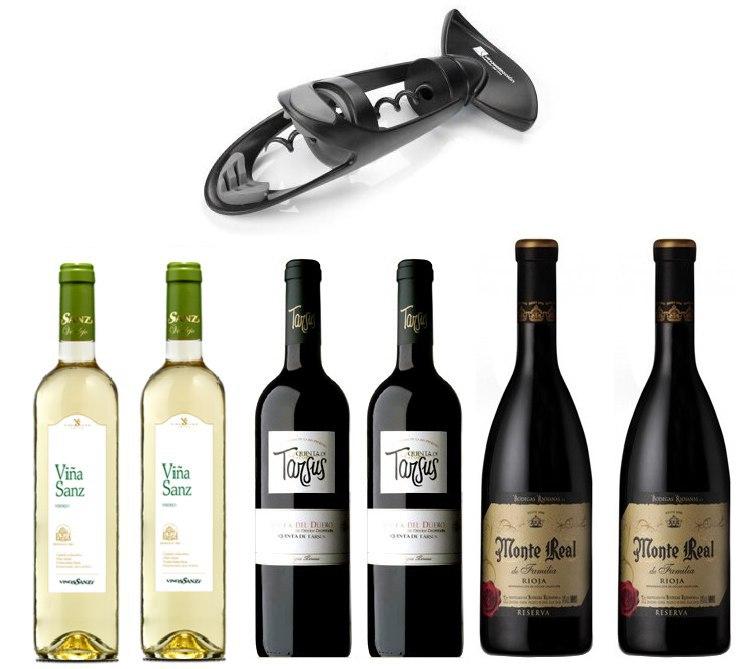 Pack de Vino 6 botellas solo 35€