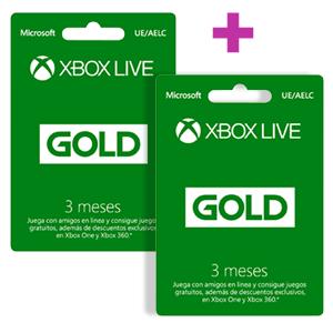 10 MESES XBOX LIVE GOLD