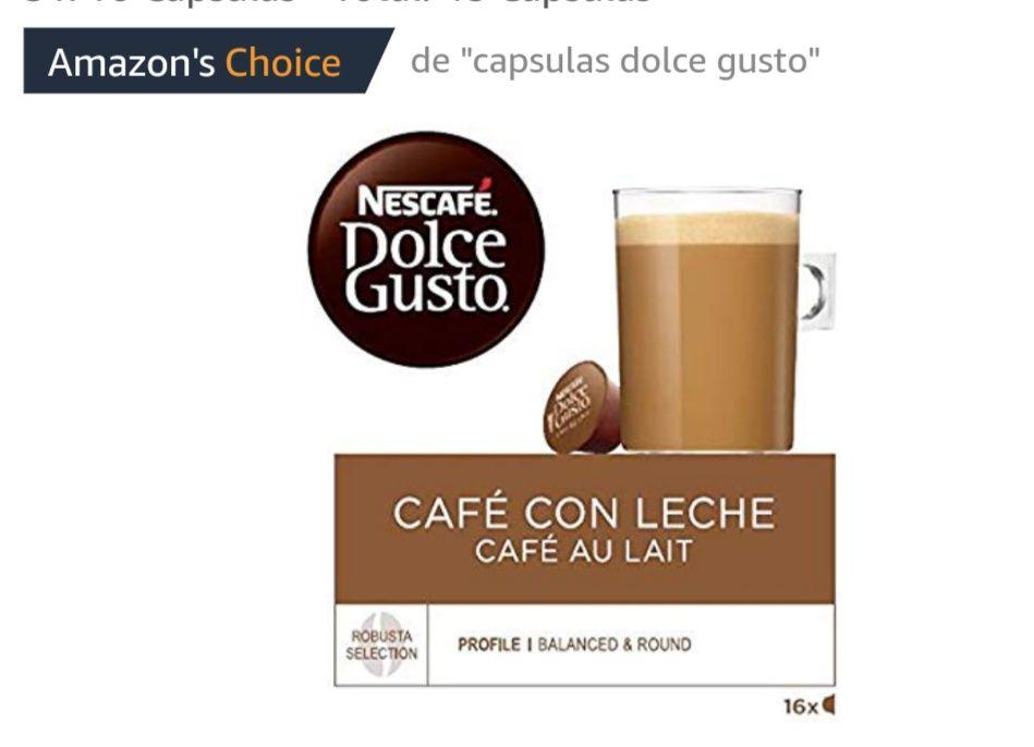 Café con Leche | Pack de 3 x 16 Cápsulas - Total: 48 Cápsulas