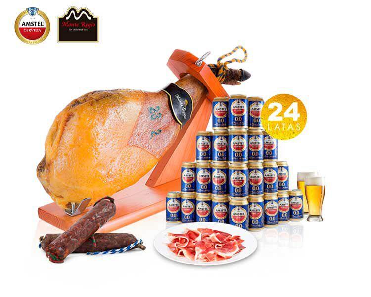 Paleta + 24 latas Amstel