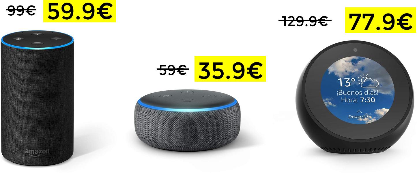 Amazon Alexa desde 35.99€