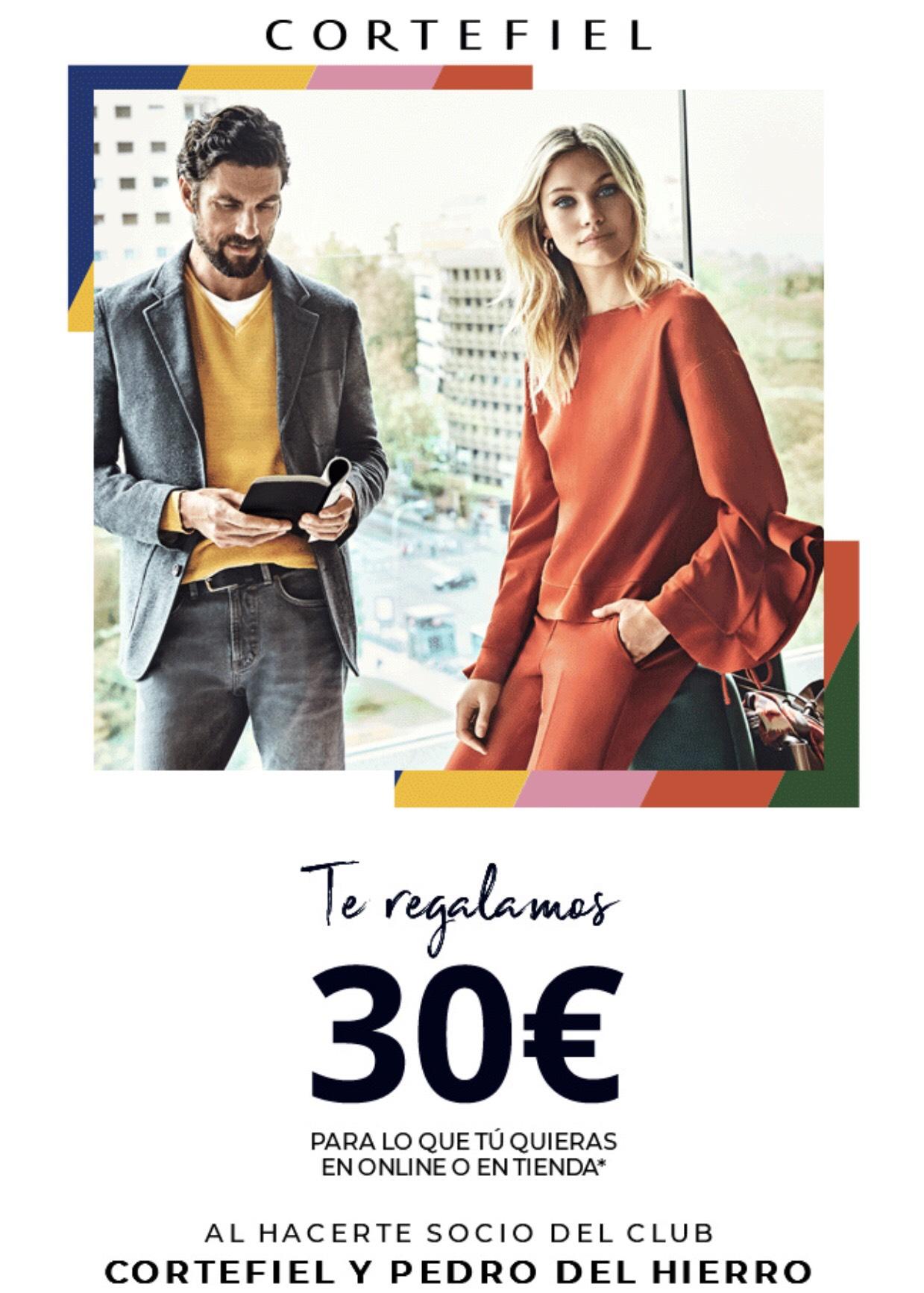 Descuento 30€ cortefiel