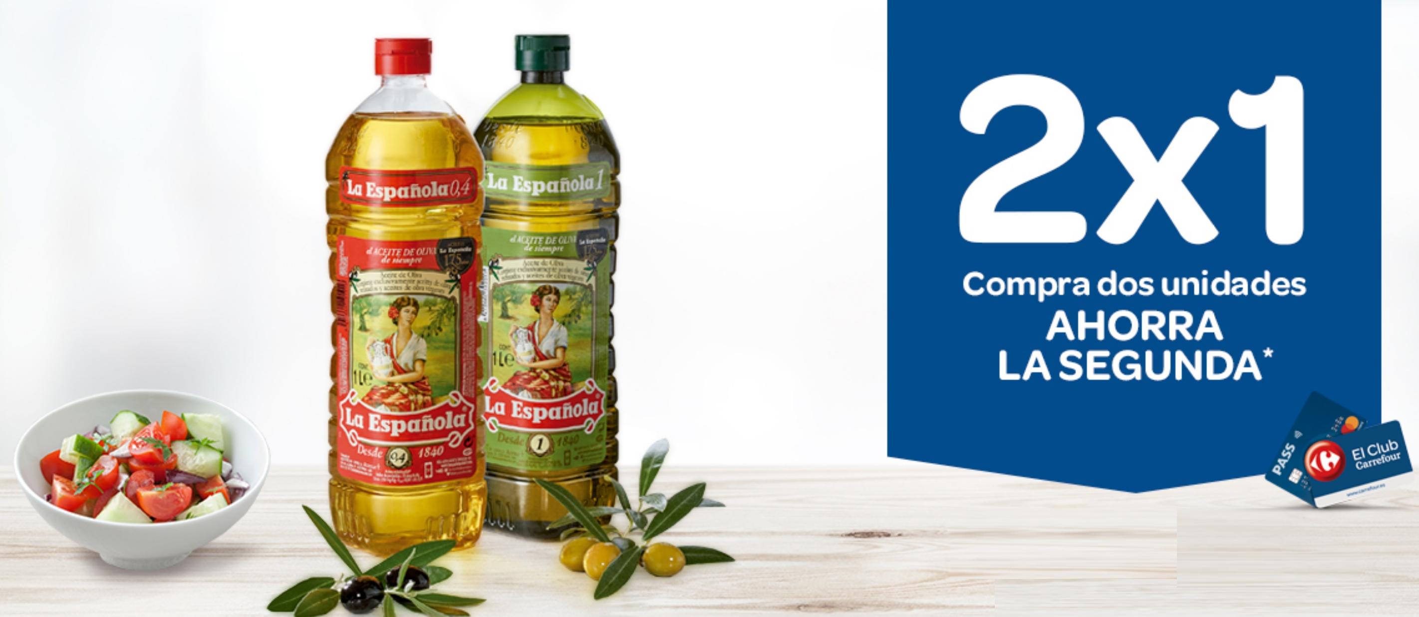 2X1 Acumulable en Cheque Carrefour