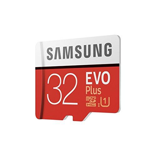 Amazon Prime: Samsung EVO Plus - MicroSD 32 GB (con adaptador SD) 95 MB/s, UHS1