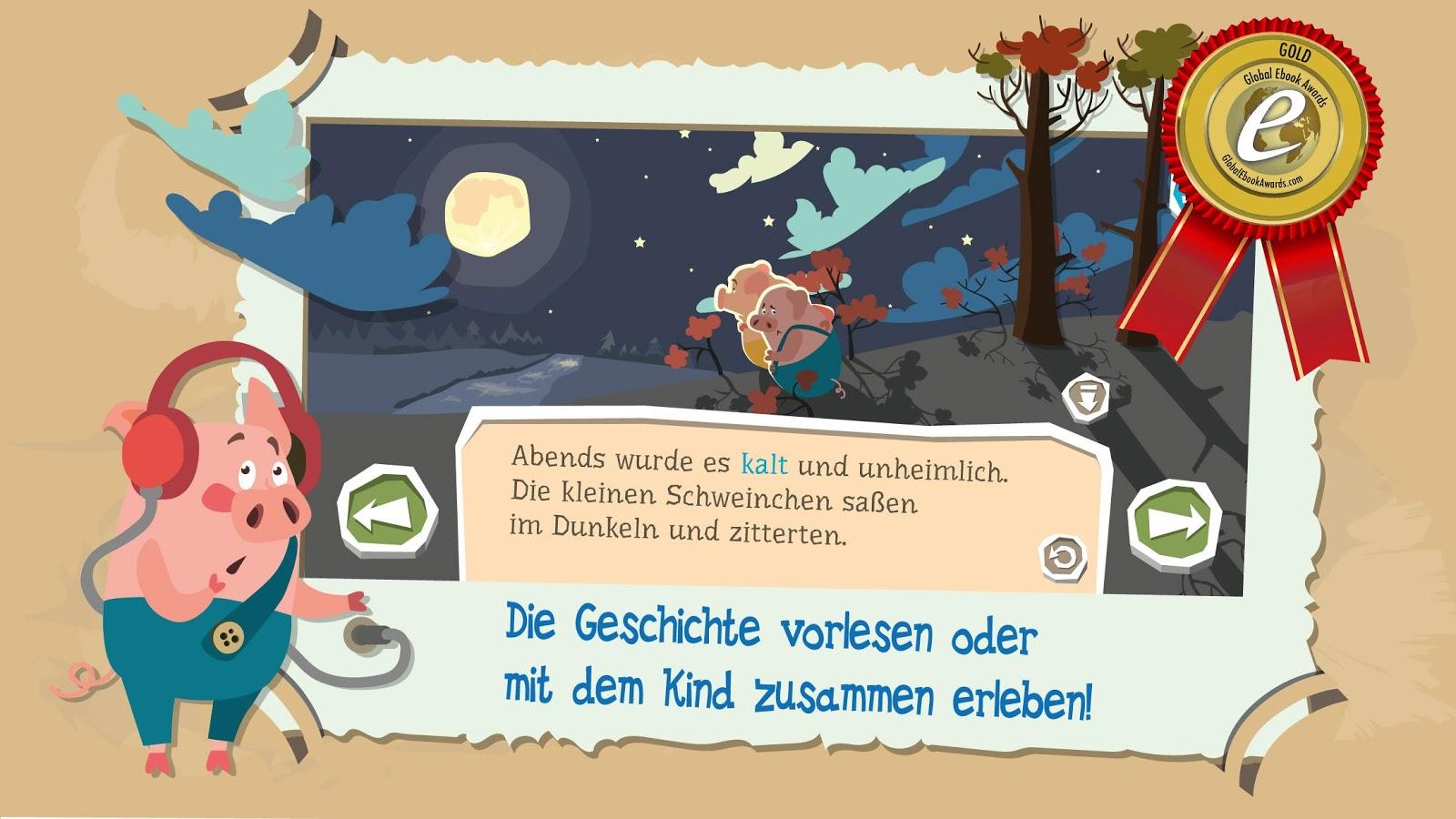 """Libro infantil interactivo """"Tres cerditos"""" - oferta especial"""