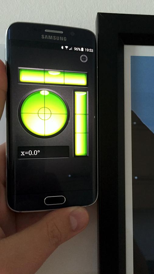 Android: Nivel de Burbuja Pro (gratis)
