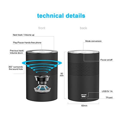 Altavoz Bluetooth Estéreo Sonido envolvente de 360 Grados (Código Descuento)