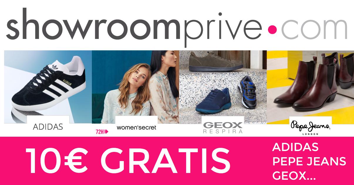 10€ Gratis en ShowroomPrive