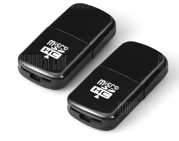 Par de lectores USB de microSD desde la app por 0,35€