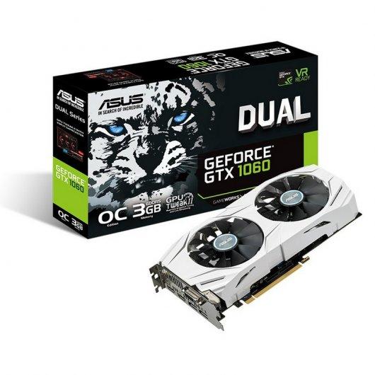 Asus GeForce GTX 1060 OC Dual 3GB GDDR5