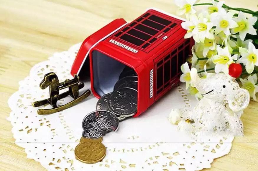 Caja de lata para guardar potreces