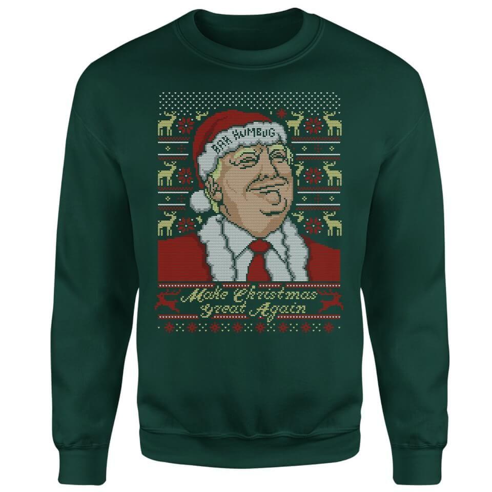 """Sudadera Navideña Donald Trump """"Make Christmas Great Again"""""""