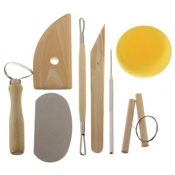 Kit de herramientas para manipulación de arcilla