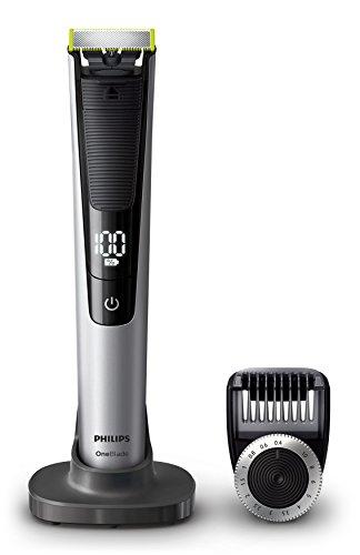Philips OneBlade Pro QP6520/30 - Recortador de barba con peine de precisión