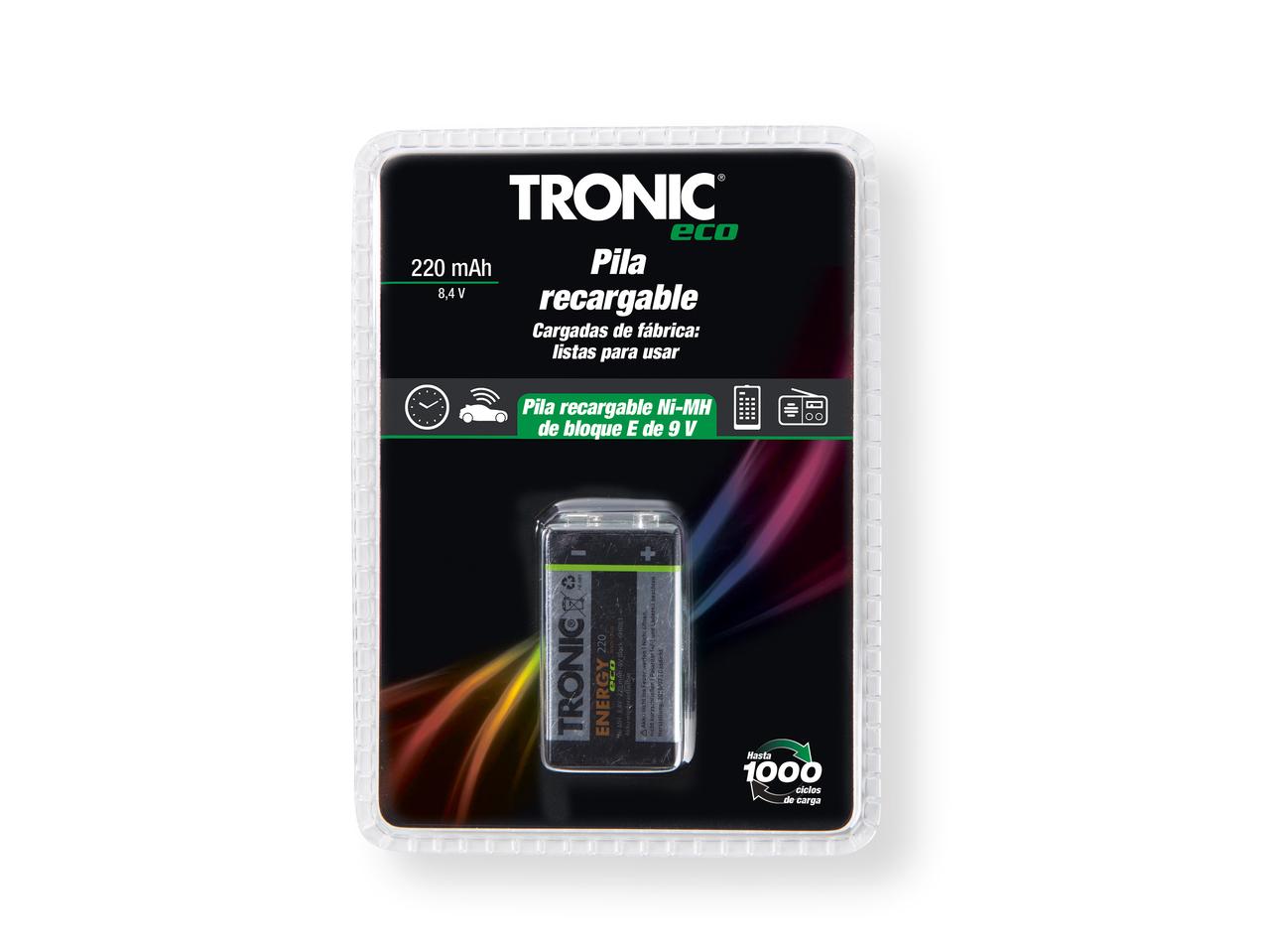 Baterías recargables Lidl Tronic