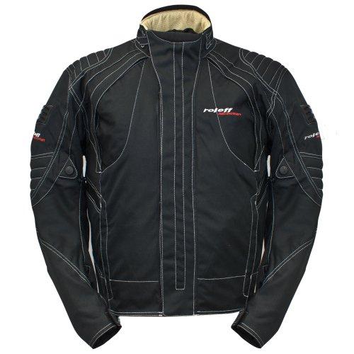 Chaqueta de Motorista Racewear Bern, Negro, S