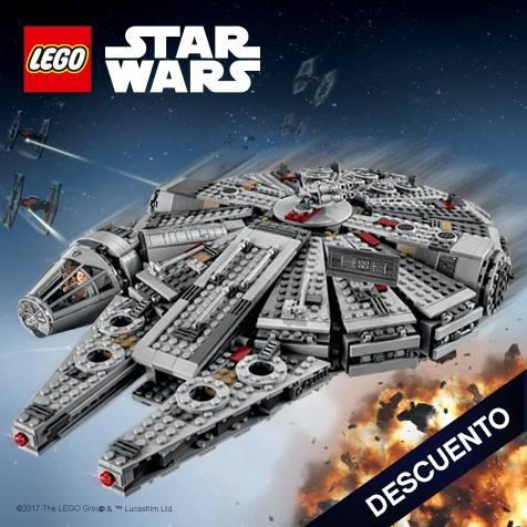 Devolución de 20€ al comprar LEGO Star Wars Halcón Milenario (75105)