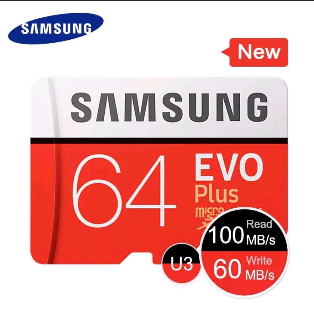 SAMSUNG tarjeta de memoria Micro SD 64GB