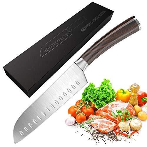 Cuchillo de Cocina Santoku de 17 cm en Acero