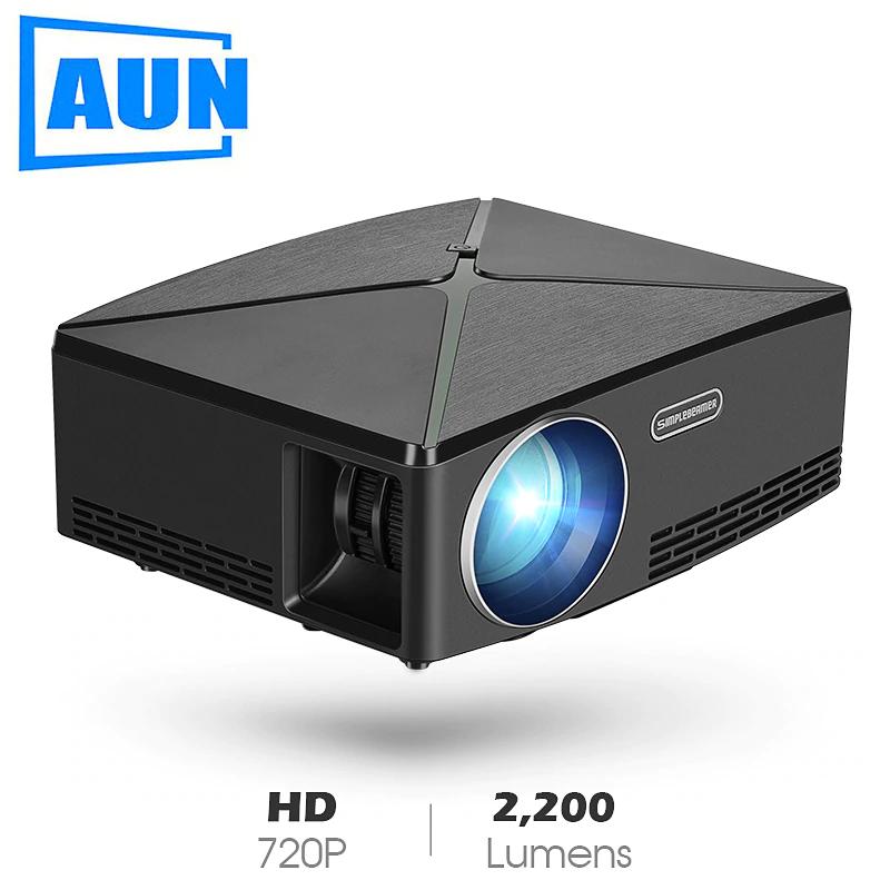 Proyector Aun 1280x720, 2200 lumens