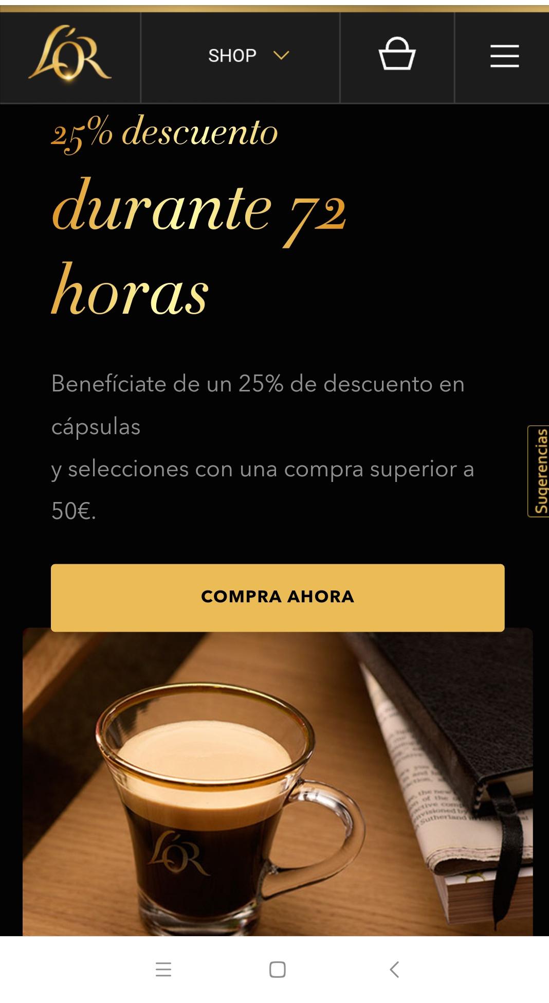 Café L'or espresso