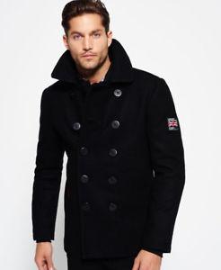 Abrigo lana SuperDry TM solo 55€