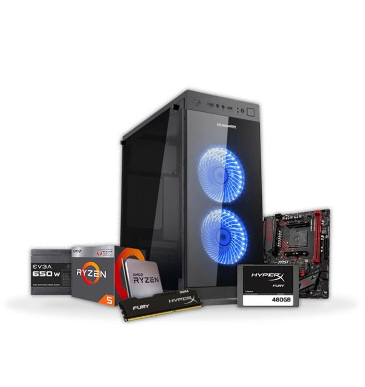 PC Halloween Gaming con Montaje y portes gratis