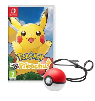Lets go pikachu & eevee y pokeball plus nintendo switch