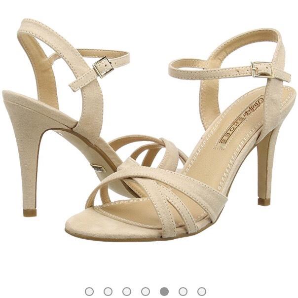 Zapatos tacón, solo num. 41