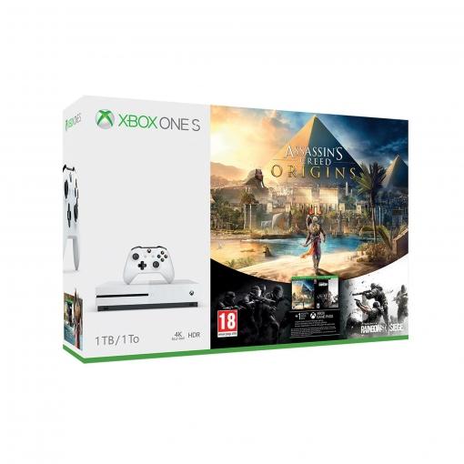Xbox One S + AC:Origins+ juego a elegir