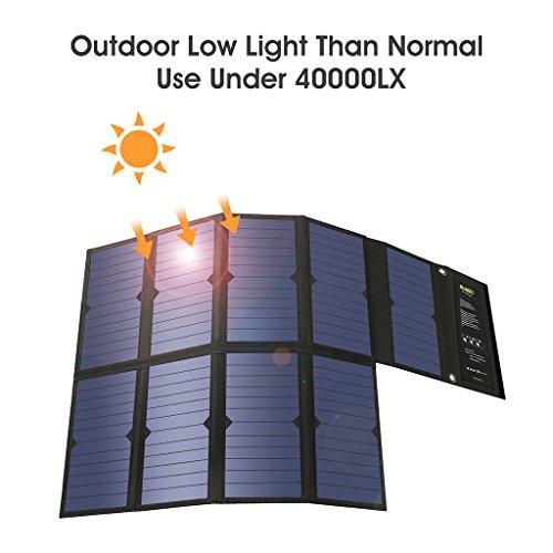 Placa solar 60W con usb