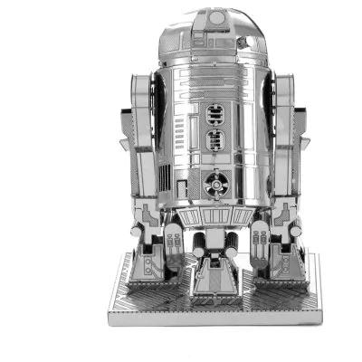 R2D2 puzzle metalico