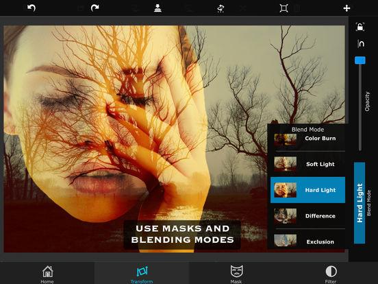 iOS: Superimpose (Aplicación para fotografía) gratis.