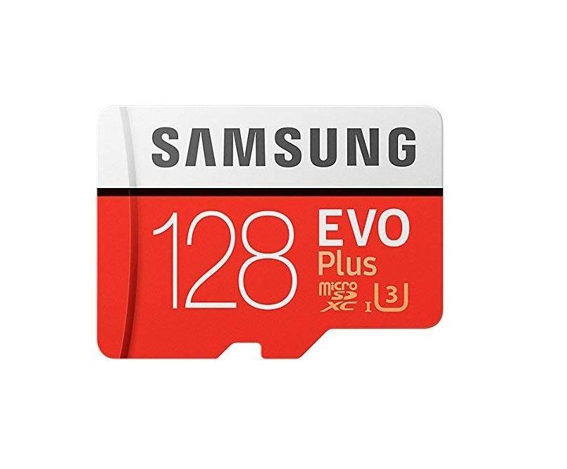Samsung MicroSDXC - Tarjeta de memoria de 128 GB -Class10- UHS-3