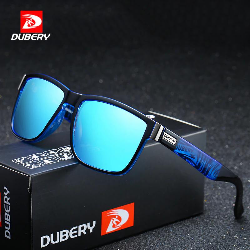 DUBERY marca de diseño polarizado gafas de sol [11:11]