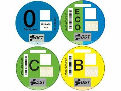 Etiquetas medioambientales DGT gratis para socios de la Mutua Madrileña