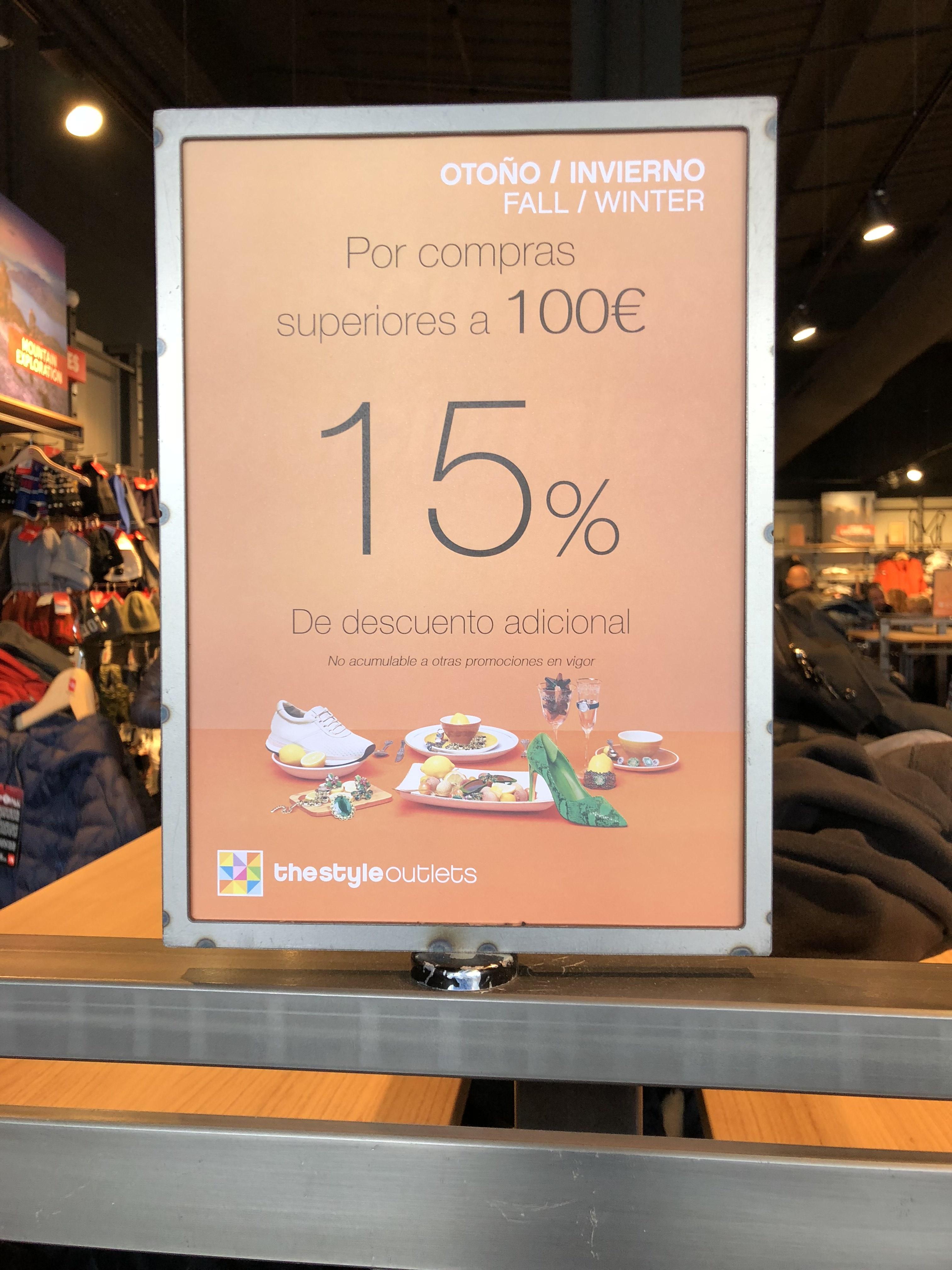 The North Face Style Outlet 15% por + 100€ de compra