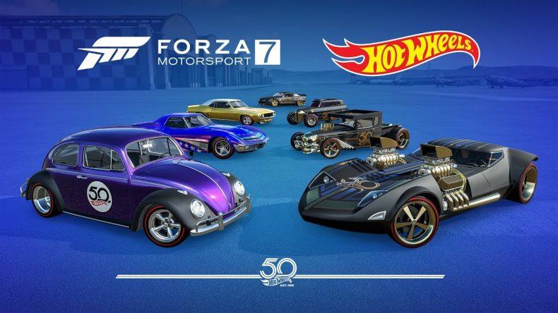 FORZA MOTORSPORT 7: (06-11) - Expansión 50º Aniversario Hot Wheels (GRATIS)