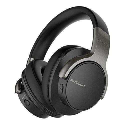 Auriculares Bluetooth AUSDOM ANC8 con Cancelación de Ruido Activa