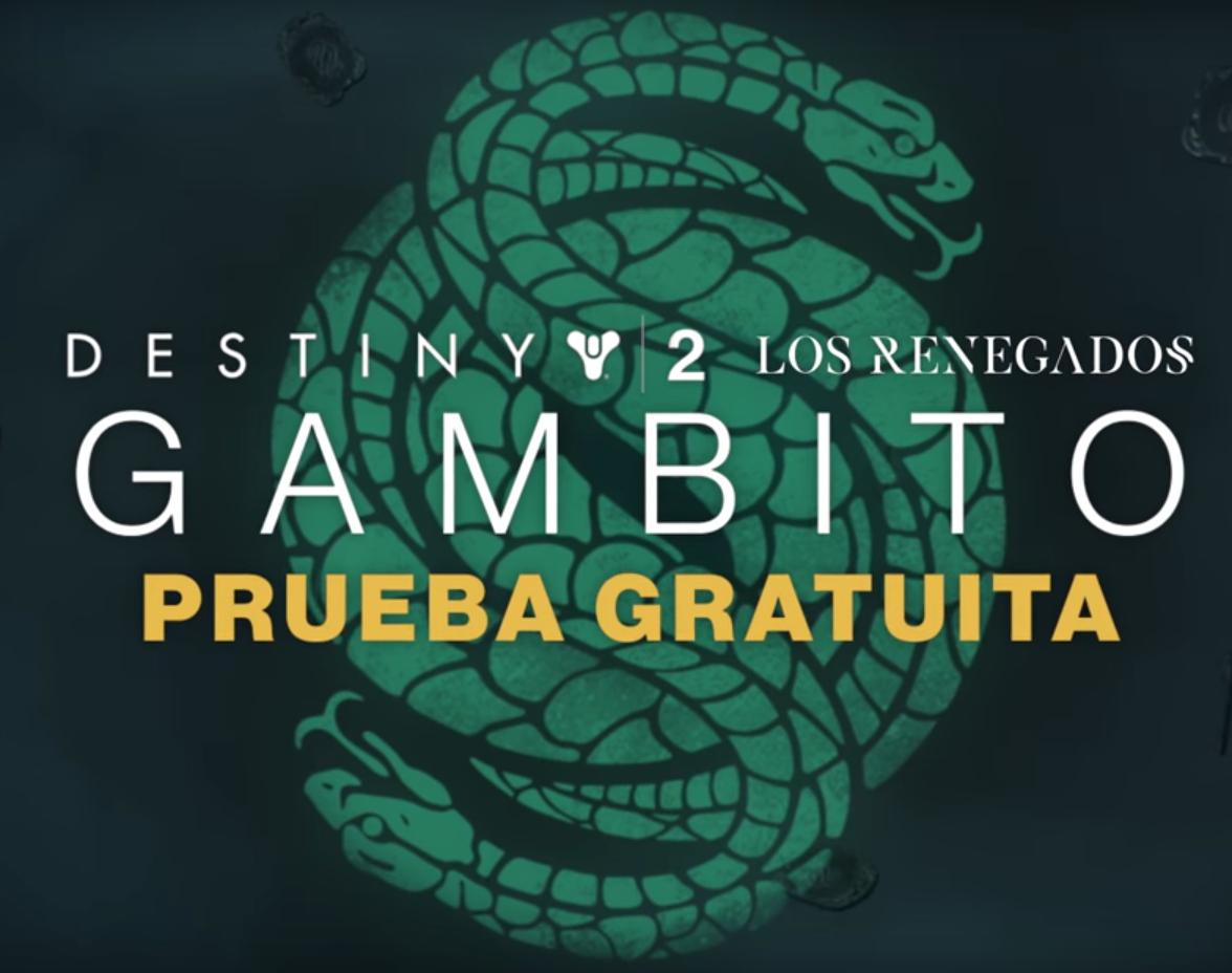 Fin de semana gratis de Gambito (Nuevo modo expansión Destiny 2: Forsaken)