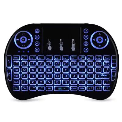 teclado QWERTY inalámbrico con ratón