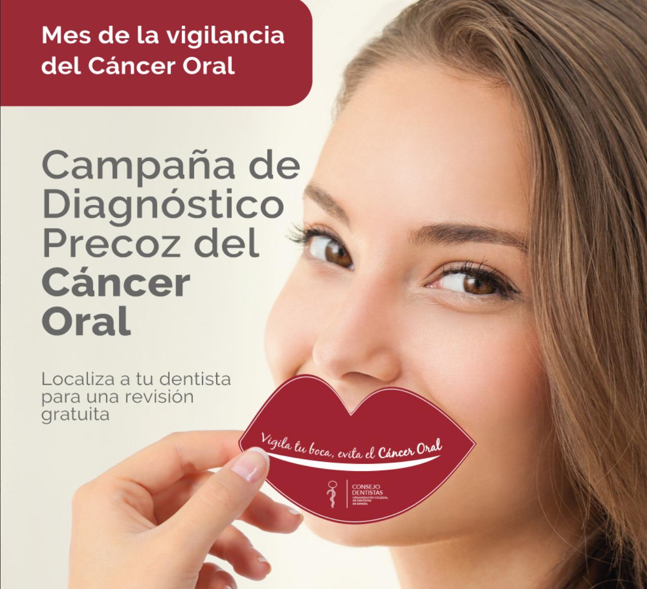 Campaña diagnóstico precoz del cáncer oral: Exámen clínico bucodentral gratis