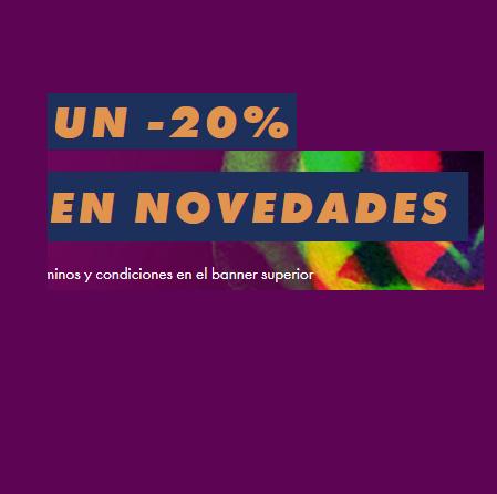 -20% en novedades en ASOS