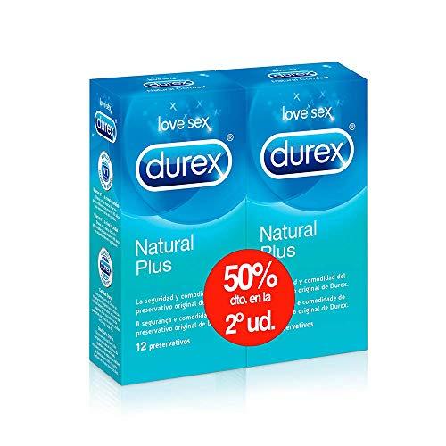 Durex Preservativos Natural (24 Condones)