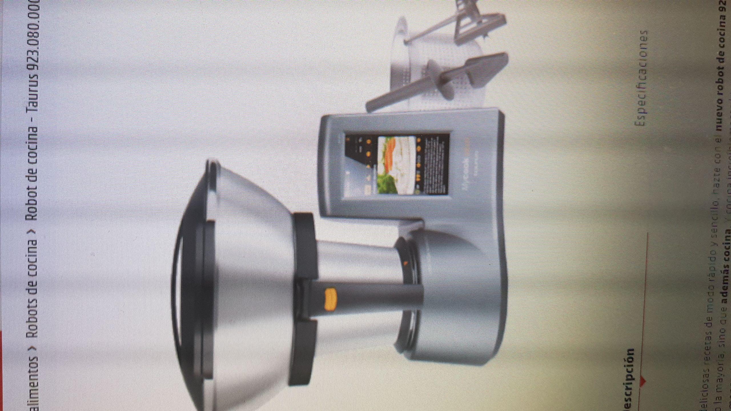 Robot de cocina! 533€ DE DESCUENTO!
